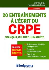 Manuelle Duszynski - 20 entraînements à l'écrit au CRPE français, culture humaniste.