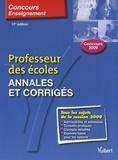 Manuelle Duszynski - Annales et corrigés - Professeur des écoles.
