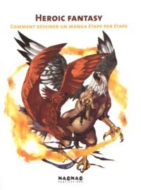 Maomao - Heroic Fantasy - Comment dessiner un manga étape par étape.