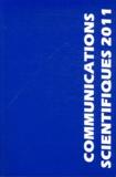 MAPAR - Communications scientifiques MAPAR 2011 - Mises au point en anesthésie-réanimation.