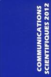 MAPAR - Communications scientifiques MAPAR 2012 - Mises au point en anesthésie-réanimation.