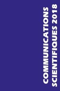 MAPAR - Communications scientifiques MAPAR - 36e Journées Internationales de Mises Au Point en Anesthésie-Réanimation, Paris, 8 et 9 juin 2018.