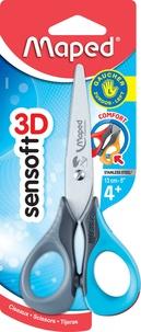 MAPED - Ciseaux Sensoft 3D 13 cm pour gaucher