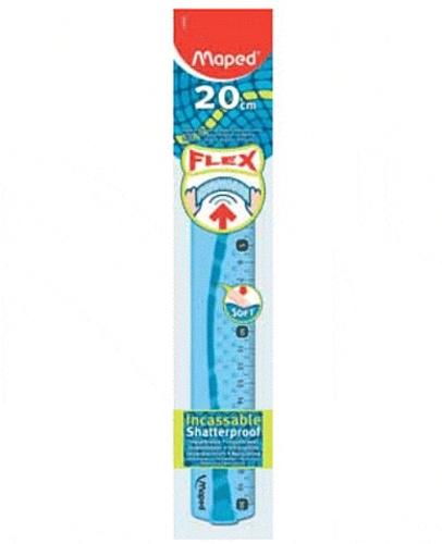 MAPED - Règle plate 20 cm Flex incassable - Coloris assortis