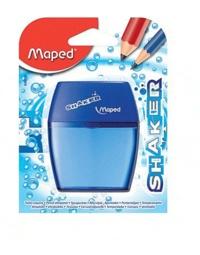MAPED - Taille-crayons Shaker 2 trous avec réserve - Coloris assortis