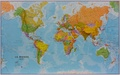 Maps International - Super carte du monde plastifiée - 1/20 000 000.