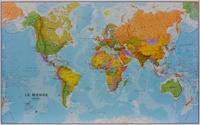 Maps International - Super carte du monde plastifiée - 1/20 000 000.