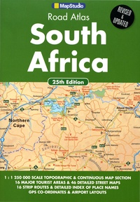 MapStudio - Road Atlas South Africa - 1/1 250 000.