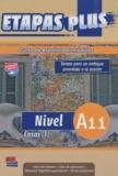 Mar Menendez et Carlos Casado - Etapas plus Nivel A1.1 Cosas (1) - Libro del alumno. 1 CD audio