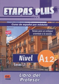 Openwetlab.it Etapas plus Nivel A1.2 Cosas (2) - Libro del profesor Image