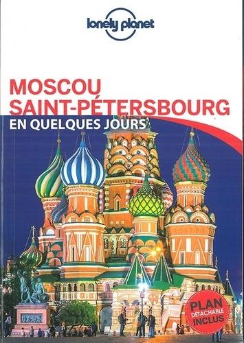 Moscou, Saint Pétersbourg en quelques jours  avec 1 Plan détachable