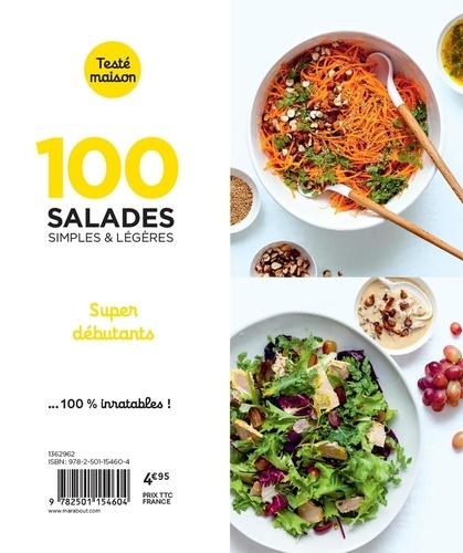 100 salades simples & légères. Super débutants