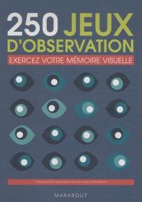 Marabout - 280 jeux d'observation - Exercez votre mémoire visuelle.