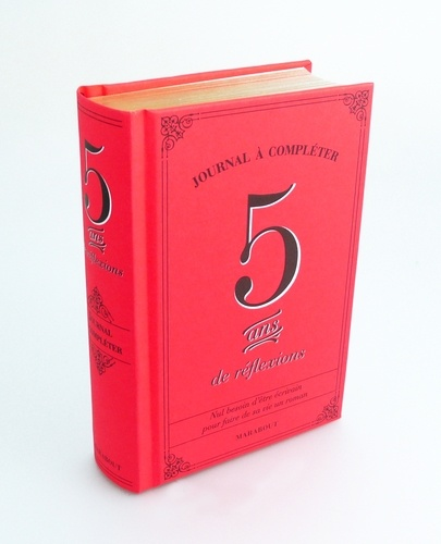 Marabout - 5 ans de réflexions - Journal à compléter.