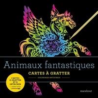 Marabout - Animaux fantastiques - Cartes à gratter et à détacher. Avec 1 stylet inclus.