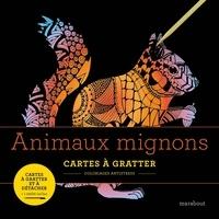 Marabout - Animaux mignons - Cartes à gratter et à détacher. Avec 1 stylet.