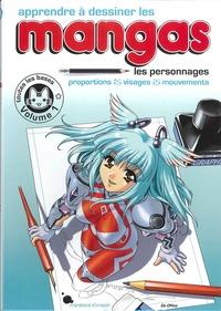 Epub Télécharger l'ebook Apprendre à dessiner les mangas  - Volume 1, Les personnages (Litterature Francaise)