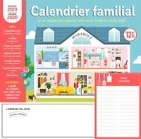 Calendrier familial- Le kit complet pour organiser votre vie de famille en un clin d'oeil ! Avec un feutre effaçable aimanté -  Marabout | Showmesound.org