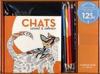 Téléchargements gratuits de livres pdf Chats  - Coffret avec 1 carnet de coloriage, 5 marque-pages à colorier, 3 cartes à gratter, 4 crayons bicolores, 1 taille-crayon et 1 stylet 9782501127103 (Litterature Francaise)