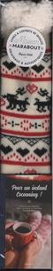 Deedr.fr Chaussettes cocooning - Coffret avec 1 paire de chaussettes et 1 livre cocooning Image