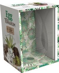 Marabout - Cocon végétal - Coffret avec 1 terrarium en verre et 1 livre de conseils pratiques.