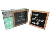 Marabout - Coffret Letter Board.