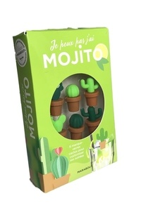 Marabout - Coffret marque-verres Mojito.