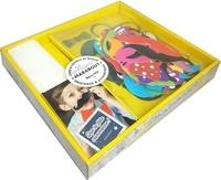 Marabout - Coffret Photobooth - Le livre Que la fête commence avec 48 accessoires.