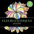 Marabout - Fleurs exotiques.