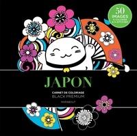Marabout - Japon - Carnet de coloriage black premium.