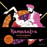 Marabout - Kamasutra - Cartes à gratter et à détacher, avec 2 stylets.
