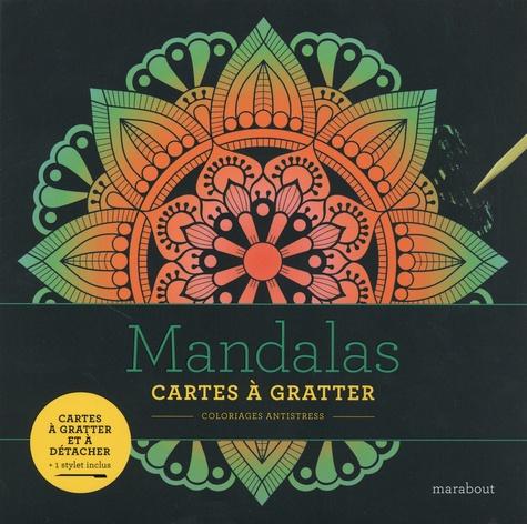 Mandalas. Avec 1 stylet