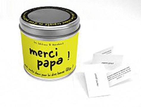 Marabout - Merci papa ! - 50 mots doux pour lui dire bonne fête !.