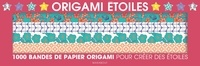Marabout - Mon coffret Origami étoiles - 1 000 bandes de papier origami pour créer des étoiles.