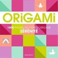 Marabout - Origami sérénité - Pour réaliser 500 pliages.