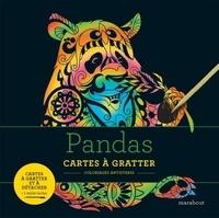 Marabout - Panda - Cartes à gratter et à détacher. Avec 1 stylet inclus.