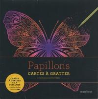 Marabout - Papillons - Cartes à gratter et à détacher. Avec 1 stylet inclus.