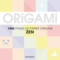 Marabout - Pastel origami - Pour réaliser 500 pliages.