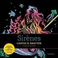 Marabout - Sirènes - Cartes à gratter et à détacher. Avec 1 stylet.