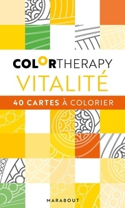 Pdf télécharger des livres de téléchargement Vitalité  - 40 cartes à colorier
