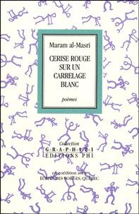 Maram Al-Masri - Cerise rouge sur un carrelage blanc.