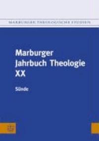 Marburger Jahrbuch Theologie XX - Sünde.
