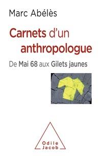Marc Abélès - Carnets d'un anthropologue - De Mai 68 aux Gilets jaunes.