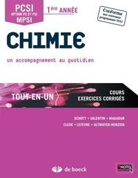 Marc-Alexandre Schott et Sylvain Clède - Chimie PCSI, option PC et PSI, MPSI 1re année tout-en-un - Un accompagnement au quotidien.