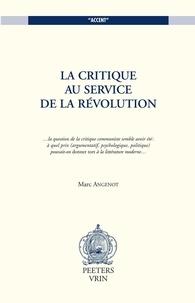 Marc Angenot - .