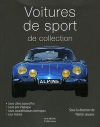 Marc-Antoine Colin et Jean-Pierre Dauliac - Voiture de sport de collection.