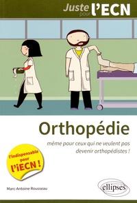 Marc-Antoine Rousseau - Orthopédie.