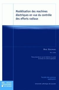 Marc Bekemans - Modélisation des machines électriques en vue du contrôle des efforts radiaux.