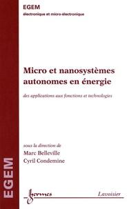Deedr.fr Micro et nanosystèmes autonomes en énergie - Des applications aux fonctions et technologies Image