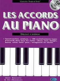 Marc Bercovitz et Art Mickaelian - Les accords au piano - Débutant à supérieur. 1 CD audio